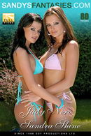 Sandra Shine & Judy Nero in Cool Blue Prickin And Lickin gallery from SANDYSFANTASIES