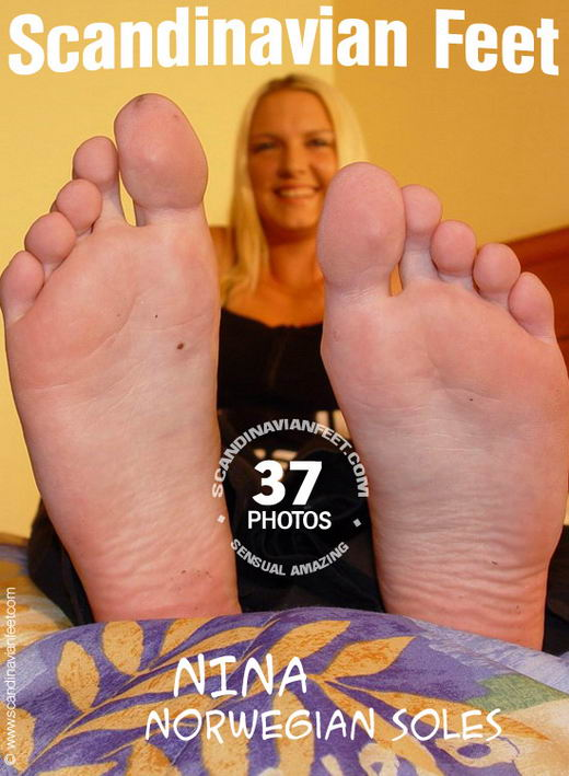 Nina - `Norwegian Soles` - for SCANDINAVIANFEET