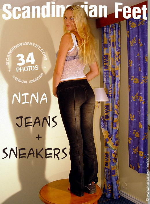 Nina - `Jeans + Sneakers` - for SCANDINAVIANFEET