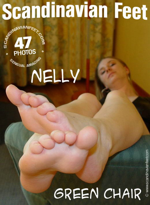 Nelly - `Green Chair` - for SCANDINAVIANFEET