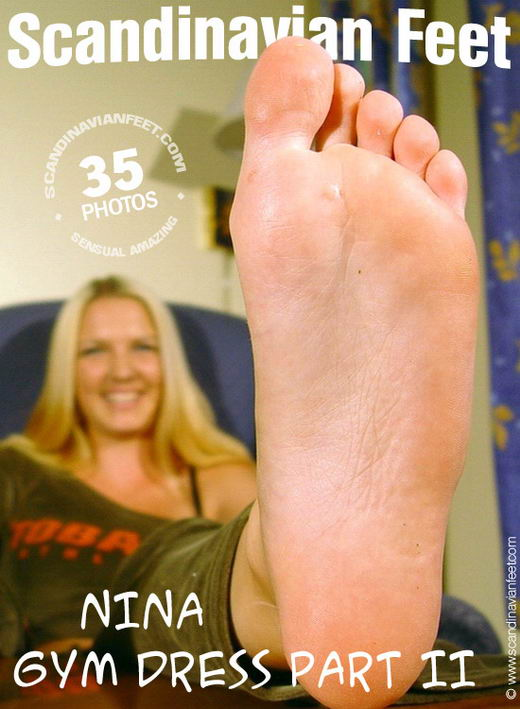 Nina - `Gym dress Part II` - for SCANDINAVIANFEET