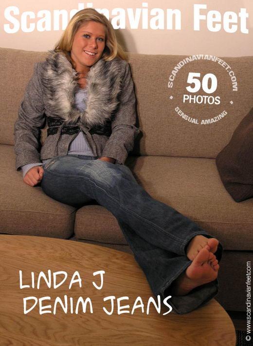 Linda J - `Denim Jeans` - for SCANDINAVIANFEET