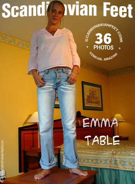 Emma - `Table` - for SCANDINAVIANFEET