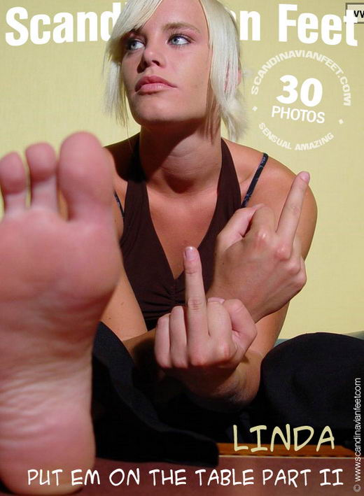 Linda - `Put 'em On The Table Part II` - for SCANDINAVIANFEET
