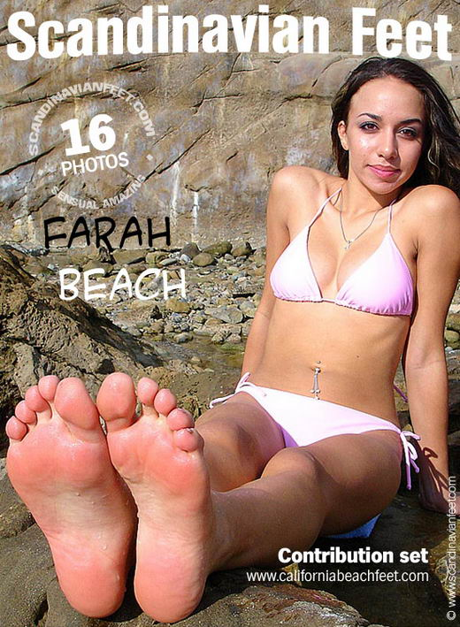 Farah - `Beach` - for SCANDINAVIANFEET