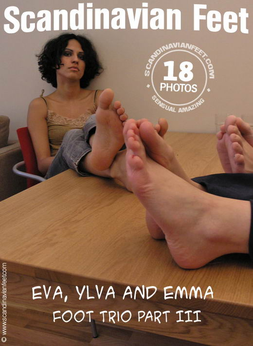 Eva & Ylva & Emma - `Foot Trio Part III` - for SCANDINAVIANFEET
