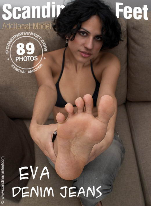 Eva - `Denim Jeans` - for SCANDINAVIANFEET