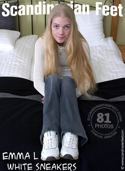 Emma L - `White Sneakers` - for SCANDINAVIANFEET