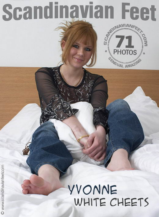 Yvonne - `White Cheets` - for SCANDINAVIANFEET