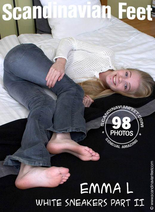 Emma L - `White Sneakers Part II` - for SCANDINAVIANFEET