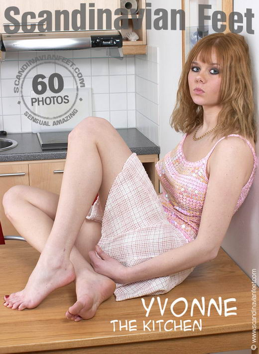 Yvonne - `The Kitchen` - for SCANDINAVIANFEET