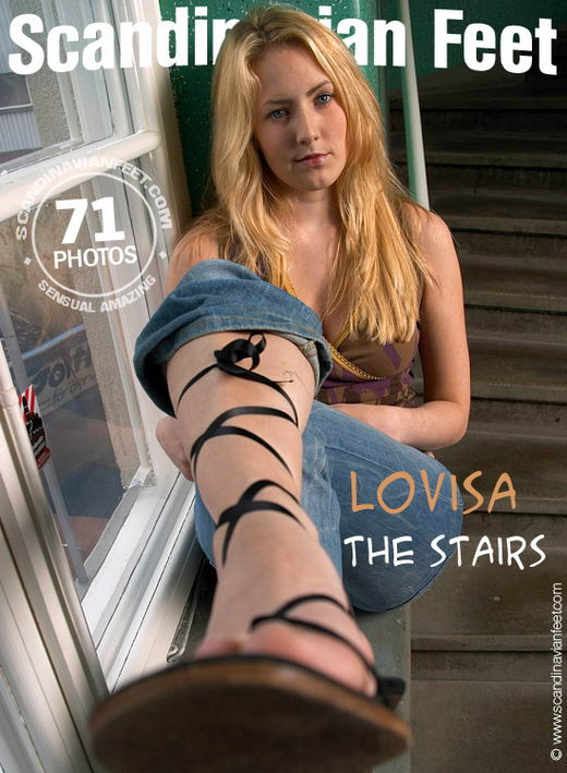 Lovisa - `The Stairs` - for SCANDINAVIANFEET