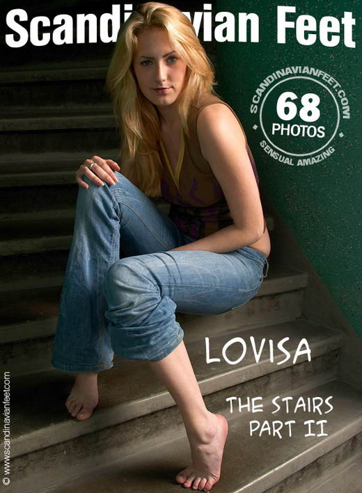 Lovisa - `The Stairs Part II` - for SCANDINAVIANFEET