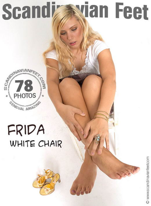 Frida - `White Chair` - for SCANDINAVIANFEET