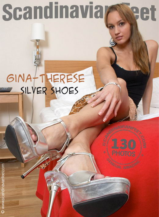 Gina-Theresa - `Silver Shoes` - for SCANDINAVIANFEET