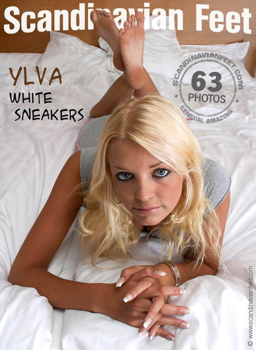 Ylva - `White Sneakers` - for SCANDINAVIANFEET