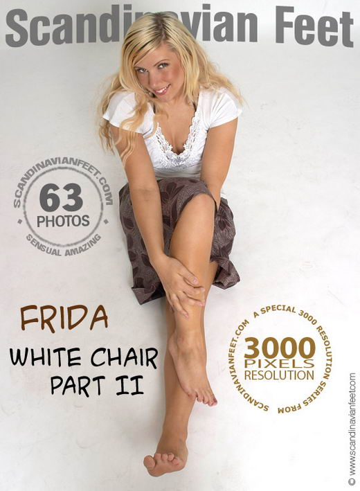 Frida - `White Chair Part II` - for SCANDINAVIANFEET