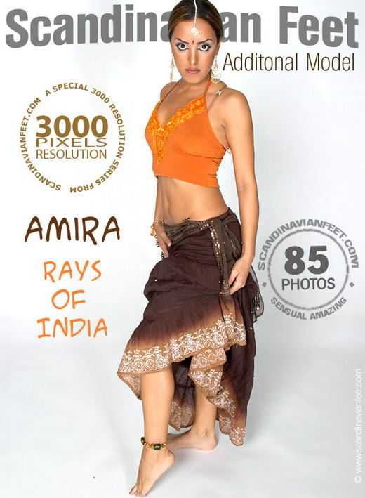 Amira - `Rays Of India` - for SCANDINAVIANFEET