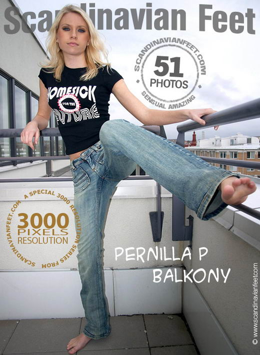 Pernilla P - `Balkony` - for SCANDINAVIANFEET