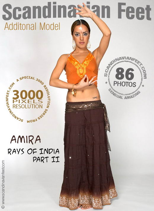 Amira - `Rays Of India Part II` - for SCANDINAVIANFEET