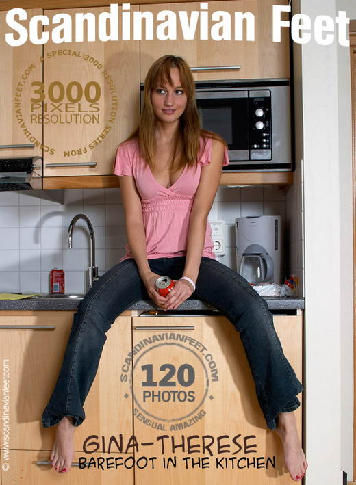 Gina-Theresa - `Barefoot In The Kitchen` - for SCANDINAVIANFEET