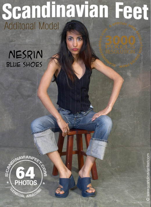 Nesrin - `Blue Shoes` - for SCANDINAVIANFEET