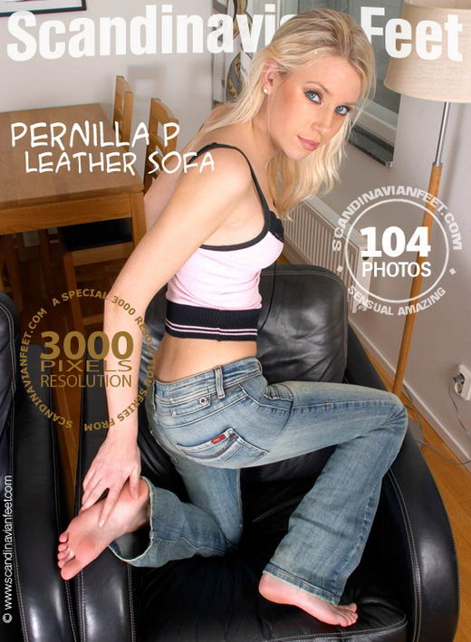 Pernilla P - `Leather Sofa` - for SCANDINAVIANFEET