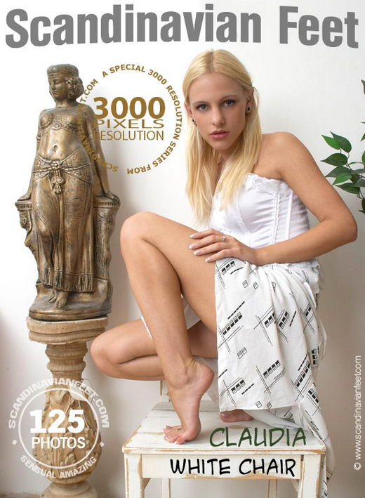 Claudia - `White Chair` - for SCANDINAVIANFEET