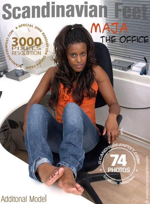 Maja - `The Office` - for SCANDINAVIANFEET