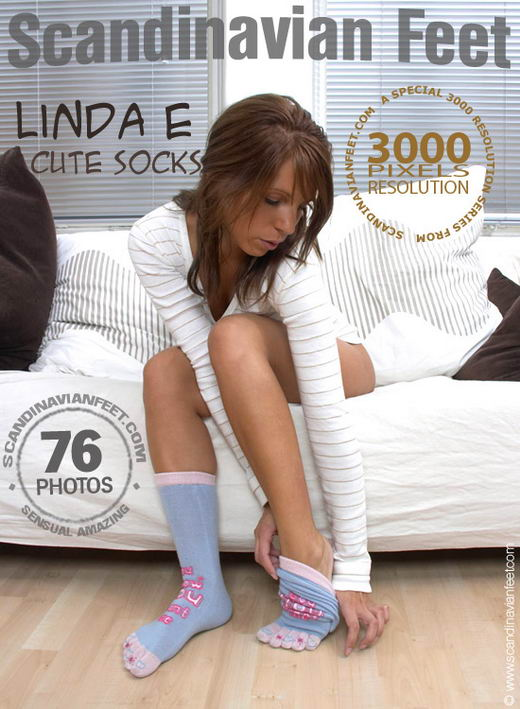 Linda E - `Cute Socks` - for SCANDINAVIANFEET