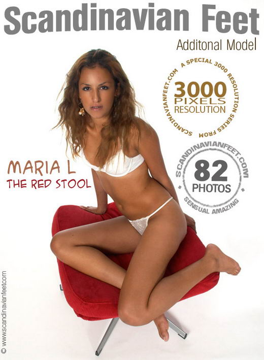 Maria L - `The Red Stool` - for SCANDINAVIANFEET