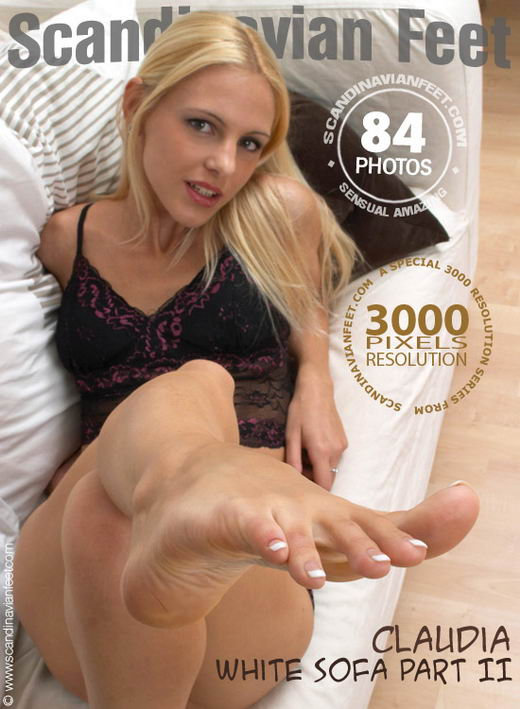 Claudia - `White Sofa Part II` - for SCANDINAVIANFEET