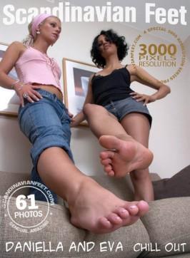 Daniella & Danielle  from SCANDINAVIANFEET