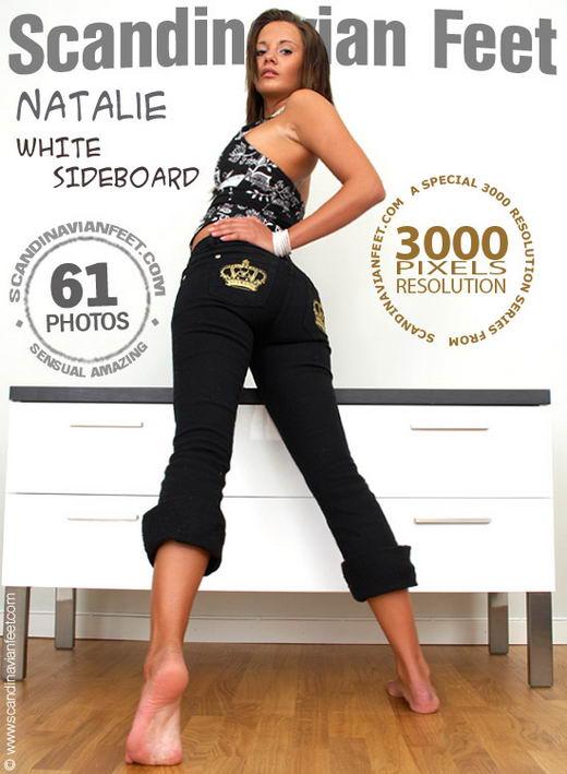 Natalie - `White Sideboard` - for SCANDINAVIANFEET