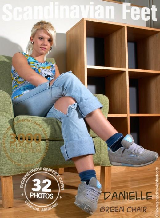 Danielle - `Green Chair` - for SCANDINAVIANFEET