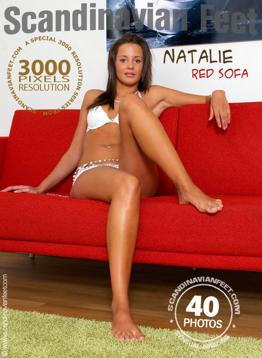 Natalie - `Red Sofa` - for SCANDINAVIANFEET