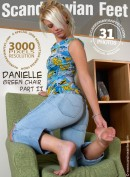 Danielle in Green Chair - Part II gallery from SCANDINAVIANFEET