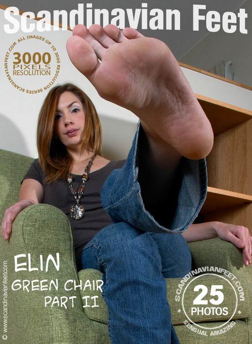 Elin - `Green Chair Part II` - for SCANDINAVIANFEET