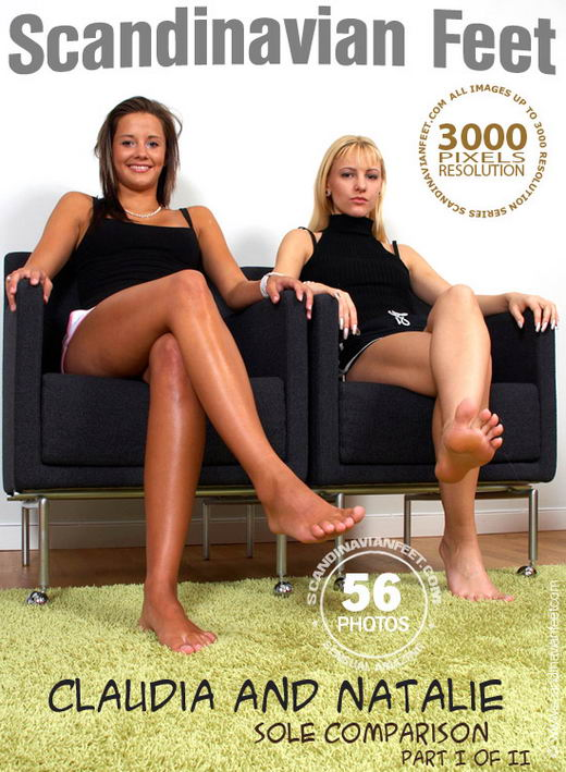 Claudia & Natalie - `Sole Comparison Part I` - for SCANDINAVIANFEET