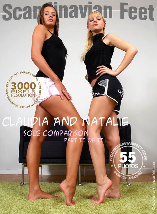 Claudia & Natalie - `Sole Comparison Part II` - for SCANDINAVIANFEET