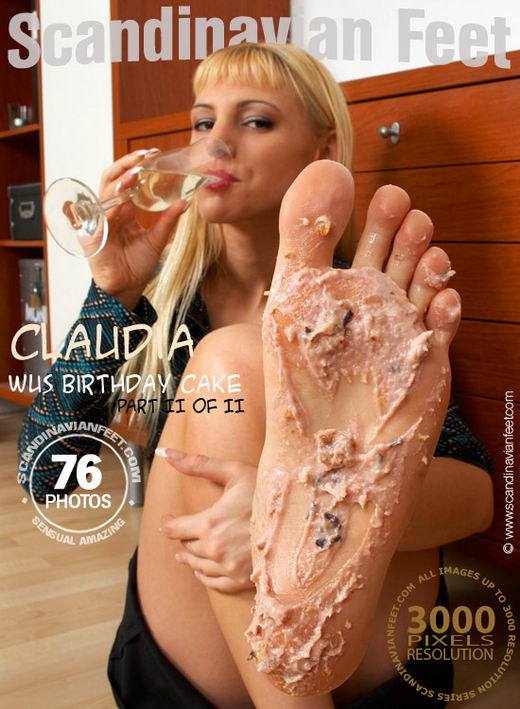 Claudia - `Wus Birthday Cake II` - for SCANDINAVIANFEET