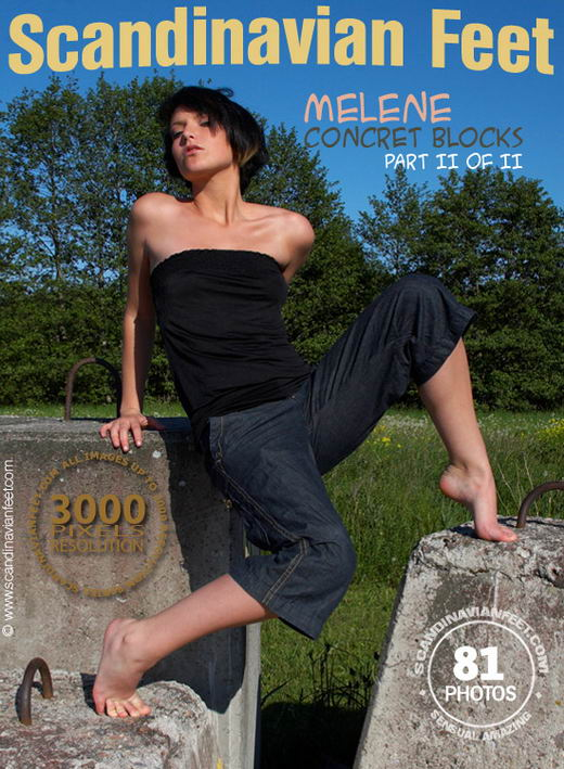 Melene - `Concret Blocks Part II` - for SCANDINAVIANFEET