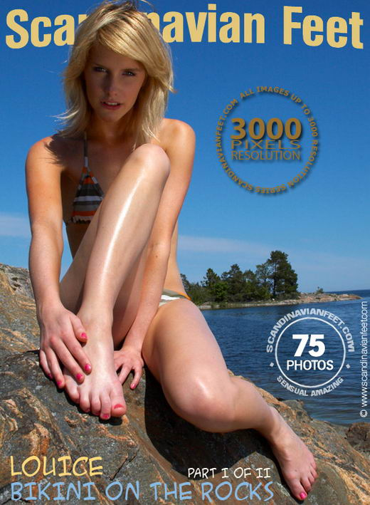 Louice - `Bikini On The Rocks Part I` - for SCANDINAVIANFEET