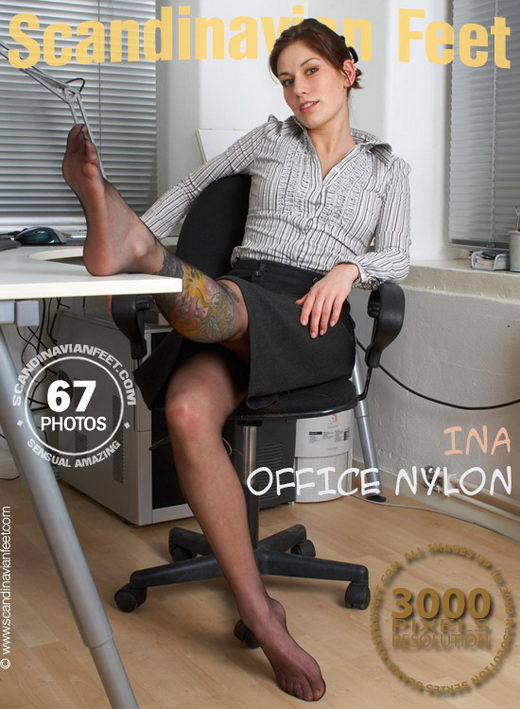Ina - `Office Nylon` - for SCANDINAVIANFEET