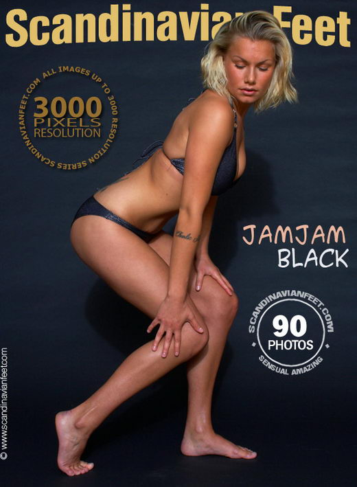 Jamjam - `Black` - for SCANDINAVIANFEET