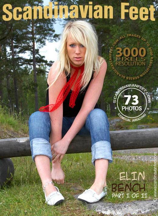 Elin in Bench gallery from SCANDINAVIANFEET