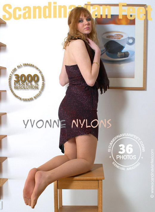 Yvonne - `Nylons` - for SCANDINAVIANFEET