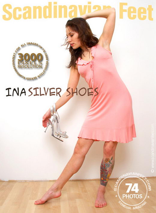 Ina - `Silver Shoes` - for SCANDINAVIANFEET