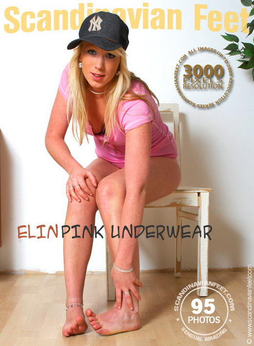 Elin - `Pink Underwear` - for SCANDINAVIANFEET