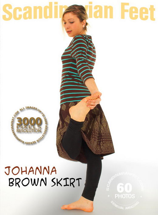 Johanna - `Brown Skirt` - for SCANDINAVIANFEET